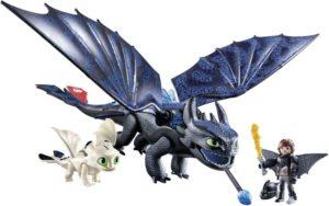 Playmobil Dragons Ο Φαφούτης & Ο Ψαρής Με Έναν Δρακούλη (70037)
