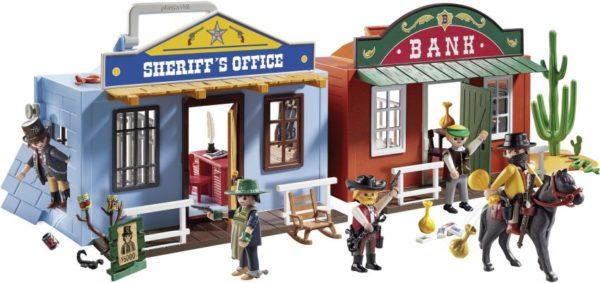 Playmobil Βαλιτσάκι Άγρια Δύση (70012)