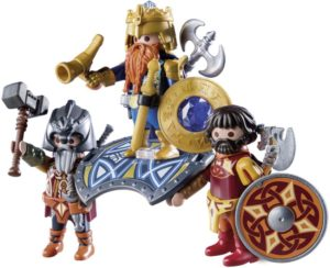 Playmobil Βασιλιάς Των Νάνων Με Δύο Φρουρούς (9344)