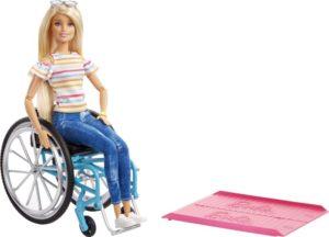 Barbie Fashionista Με Αναπηρικό Αμαξίδιο (GGL22)