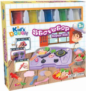 KT Πλαστοζυμαράκια Dough Stovetop Super Kit (11697)