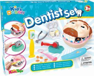 KT Πλαστοζυμαράκια Dough Dentist Σετ (11688)