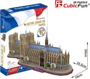 BW Παζλ 3D Notre Dame-128Τμχ (MC054H-2)
