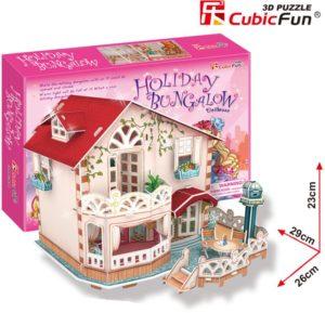 BW Παζλ 3D Holiday Bangalow-114Τμχ (P634H)