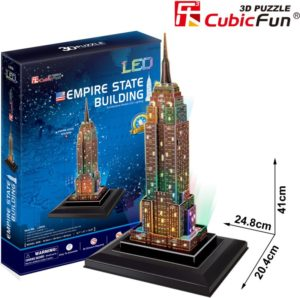 BW Παζλ 3D Empire State Building LED-38Τμχ (L503H)