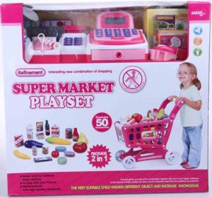 BW Σετ Super Market - Ταμειακή Μηχανή & Καρότσι (7011-368)