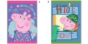 Peppa Pig Τετράδιο Καρφίτσα 17x24 40 Φύλλων-2 Σχέδια (0482445)