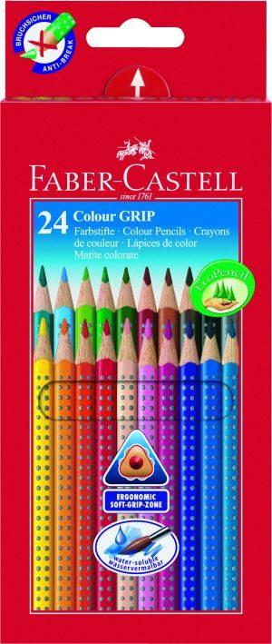 Faber Castell Ξυλομπογιές Grip 2001 24Τμχ (12305892)