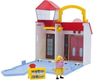 Peppa Pig Σετ Παιχνιδιού Firehouse/Hospital-2 Σχέδια (PPC55210)