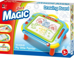 BW Πίνακας Magic Drawing 2 In 1 (628-85)