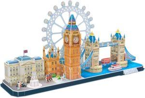 BW Παζλ 3D Cityline London (UK)-107Τμχ (MC253H)