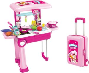 BW Σετ Κουζίνα Τρόλεϋ Little Chef 2 In 1 (008-921A)