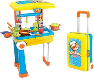 BW Σετ Κουζίνα Τρόλεϋ Little Chef 2 In 1 (008-926A)