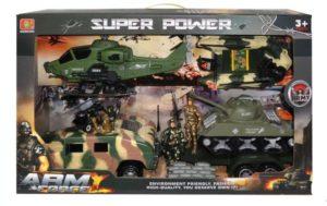 BW Στρατιωτικό Σετ Super Army Force (HW-9A7)