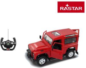 Rastar Τηλεκατευθυνόμενο Land Rover Defender 1:14 - 4 Σχέδια (78400)