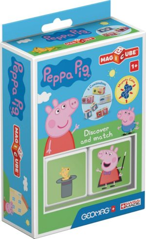Geomag Magicube Peppa Pig-Ανακάλυψε & Ταίριαξε Τις Ιστορίες (PF.331.047.00)
