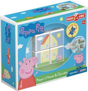 Geomag Magicube Peppa Pig-Το Σπίτι & Ο Κήπος Της Peppa (PF.331.050.00)