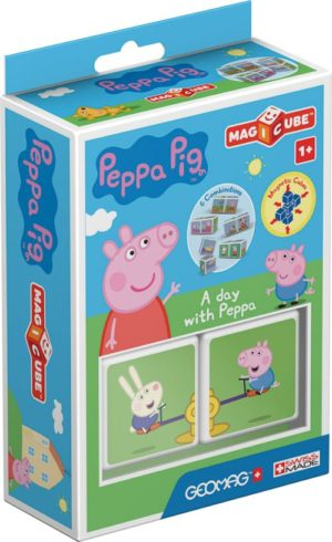 Geomag Magicube Peppa Pig-Μια Μέρα Με Την Peppa (PF.331.048.00)