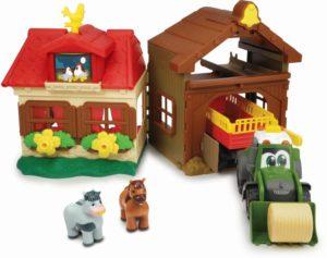 Dickie Happy Farm House Σετ & Όχημα (203818000)