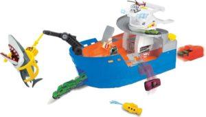 Dickie Shark Attack Πλοίο Σετ & Οχήματα (203779001)