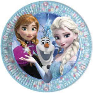 Πιάτα Μεγάλα Frozen Classic 23cm-6Τμχ (91020)