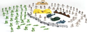 CM Soldier Force-Στρατιωτικό Mini Playset 100Τμχ (545032)