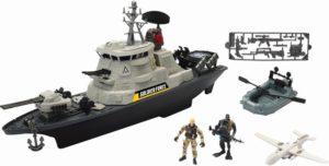 CM Soldier Force-Πολεμικό Πλοίο Hurricane Playset (545065)