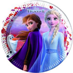 Πιάτα Μεγάλα Frozen II 23cm-6Τμχ (91823)