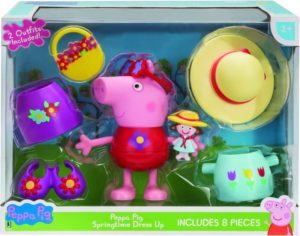 Peppa Pig Φιγούρα Dress Up 10cm (PPC58000)