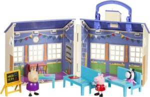 Peppa Pig Σετ Παιχνιδιού Σχολείο Με 3 Φιγούρες (PPC56000)