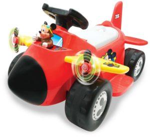 Kiddieland Ηλεκτροκίνητο Αεροπλάνο Mickey 6V (058040)