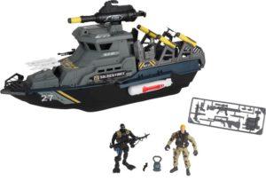 CM Soldier Force-Ναυτικό Στρατιωτικό Πλοίο Playset (545011)