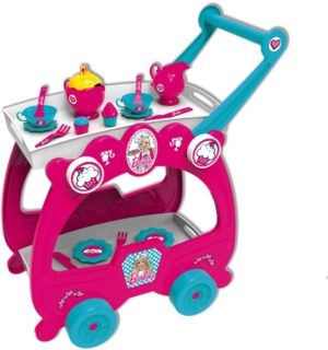 Bildo Barbie Σετ Τσαγιού-Trolley (2110)