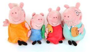Peppa Pig Λούτρινα-Η Οικογένεια Της Peppa (PPC53000)