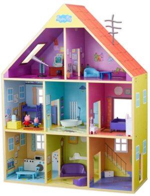 Peppa Pig Πολυτελές Ξύλινο Σπίτι & Φιγούρα (PPC51000)