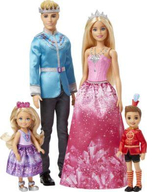 Barbie Dreamtopia Σετ Βασιλική Οικογένεια (FPL90)