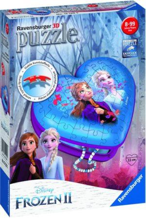 3D Puzzle Frozen II Μπιζουτιέρα 54Τμχ (12120)