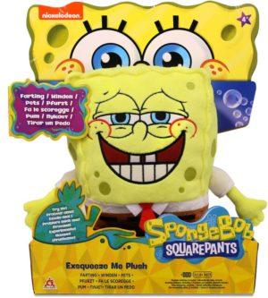 Λούτρινο Spongebob - Squeeze Plus 20cm (690902)