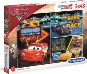 Παζλ 3x48 Disney-Cars (1200-25235)