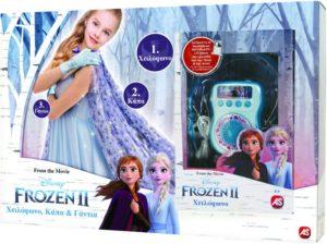 Frozen II Χειλόφωνο-Κάπα-Γάντια (7518-15592)