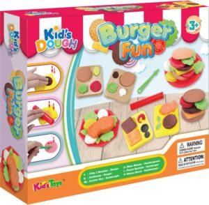 KT Πλαστοζυμαράκια Dough Σετ Burger Fun (11714)