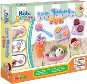 KT Πλαστοζυμαράκια Dough Σετ Ice Treats Fun (11717)