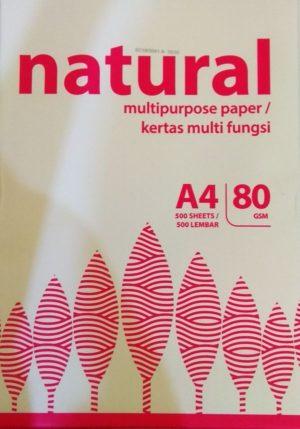 Natural Χαρτί Φωτοαντιγραφικό Α4 500 Φύλλων 80gr (21983)