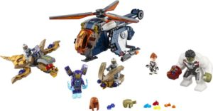 LEGO Super Heroes Avengers Hulk Helicopter Rescue (76144)