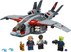 LEGO Super Heroes Captain Marvel and The Skrull Attack (76127)