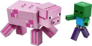 LEGO Minecraft BigFig Pig with Baby Zombie (21157)