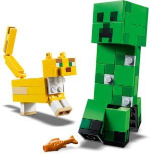 LEGO Minecraft BigFig Creeper & Ocelot (21156)