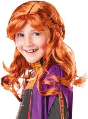 Child Anna Frozen II Περούκα (300473)