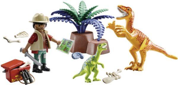 Playmobil Maxi Βαλιτσάκι Εξερευνητής & Δεινόσαυροι (70108)