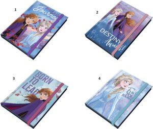 Frozen II Notepad 10x13.5cm-4 Σχέδια (000562471)